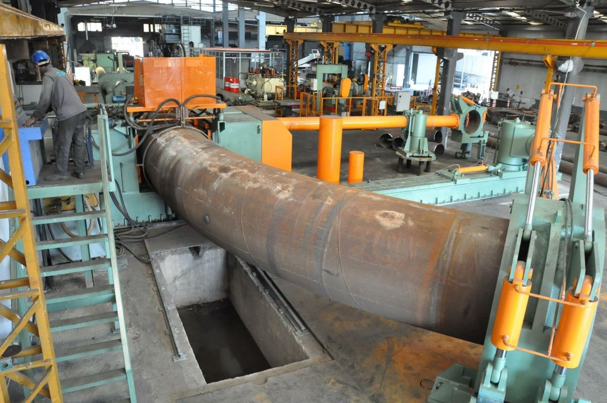 induction pipe bending