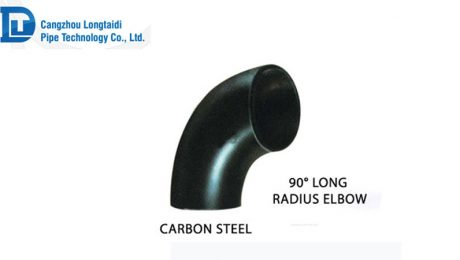 90°long radius elbow