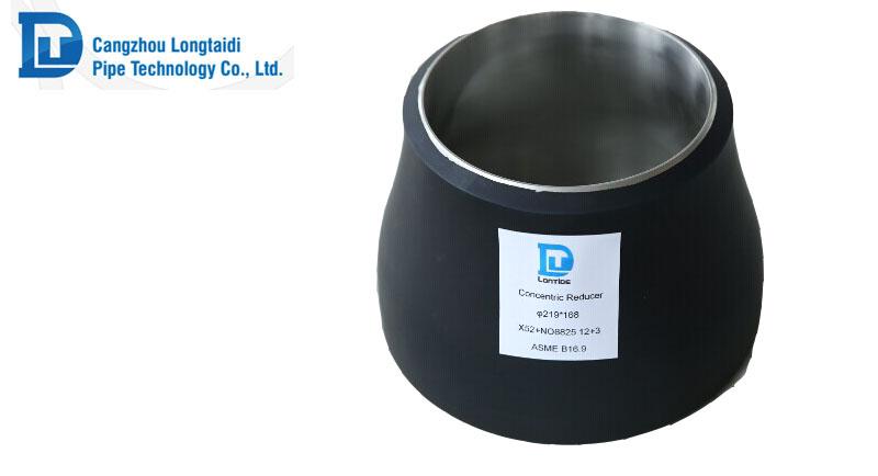 Dn carbon steel concentric reducer СТИКОВИЙ ШОВ