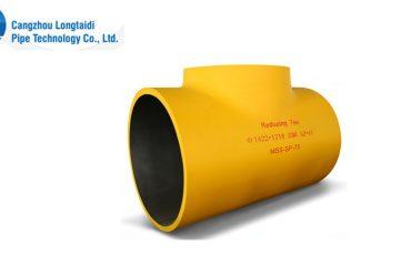 DN1400 reducing tee,pipe fittings