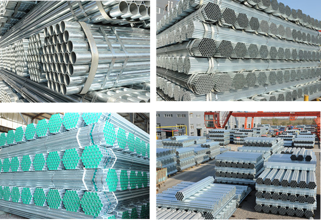Made in China Youfa Brand Hot Dipped Galvanized Steel Pipe